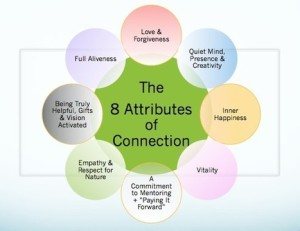 8 attributes of connection